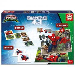 Superpack Spiderman Marvel 4 en 1 - Imagen 1