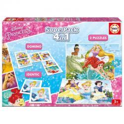 Superpack Princesas Disney 4 en 1 - Imagen 1