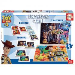 Super pack 4 en 1 Toy Story 4 Disney - Imagen 1