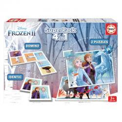 Super pack 4 en 1 Frozen 2 Disney - Imagen 1