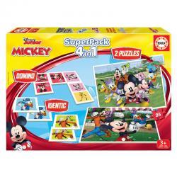Super pack 4 en 1 Mickey and Friends Disney - Imagen 1