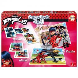 Superpack Prodigiosa Ladybug 4 en 1 - Imagen 1