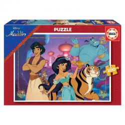 Puzzle Aladdin Disney 100pzs - Imagen 1