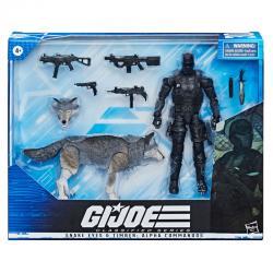 Set 2 figuras Snake Eyes and timber Alpha Commandos GI Joe Classified Series 15cm - Imagen 1