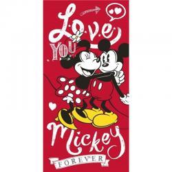 Toalla Mickey Minnnie Disney Algodon - Imagen 1