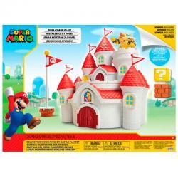 Playset Mushroom Kingdom Castle Mario Bros Nintendo - Imagen 1