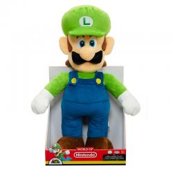 Peluche Jumbo Luigi Super Mario Nintendo 50cm - Imagen 1