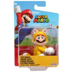 Figura Mario Felino Super Mario Nintendo 6,5cm - Imagen 1