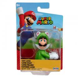 Figura Luigi Felino Super Mario Nintendo 6,5cm - Imagen 1