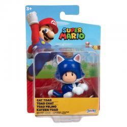 Figura Toad Felino Super Mario Nintendo 6,5cm - Imagen 1