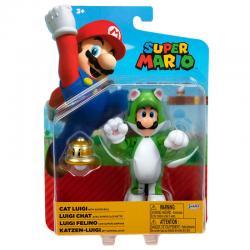 Figura Luigi Felino Super Mario Nintendo 10cm - Imagen 1