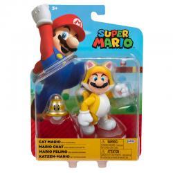 Figura Mario Felino Super Mario Nintendo 10cm - Imagen 1