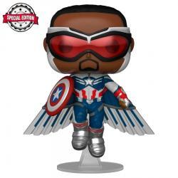Figura POP Marvel The Falcon and the Winter Soldier Captain America Exclusive - Imagen 1