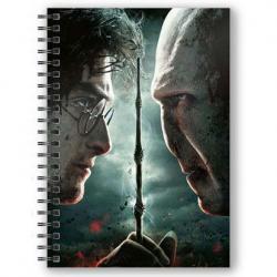 Cuaderno A5 3D Harry vs Voldemort Harry Potter - Imagen 1