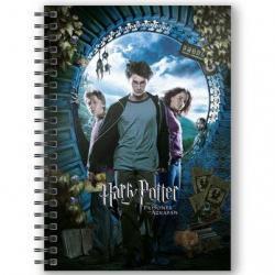 Cuaderno A5 3D Harry Potter y el Prisionero de Azkaban Harry Potter - Imagen 1