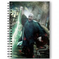 Cuaderno A5 3D Voldemort Harry Potter - Imagen 1