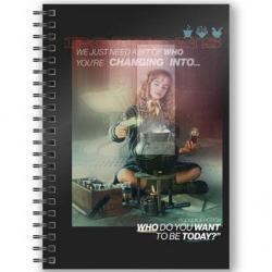 Cuaderno A5 3D Hermione Harry Potter - Imagen 1