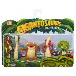 Set 4 figuras Dino Friends Gigantosaurus - Imagen 1