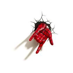 Ultimate Spider-Man Lámpara 3D LED Spider-Man Hand - Imagen 1