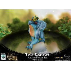 Monster Hunter Estatua PVC Tobi-Kadachi 10 cm - Imagen 1