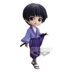 Rurouni Kenshin Minifigura Q Posket Sojiro Seta Ver. A 14 cm - Imagen 1