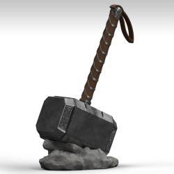 Marvel Hucha Mjölnir 28 cm - Imagen 1