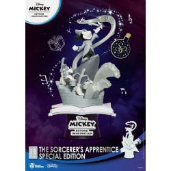 Mickey Beyond Imagination Diorama PVC D-Stage The Sorcerer's Apprentice Special Edition 15 cm - Imagen 1