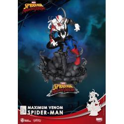 Marvel Comics Diorama PVC D-Stage Maximum Venom Spider-Man 16 cm - Imagen 1