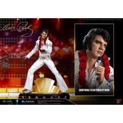 Elvis Presley Estatua 1/4 Hybrid Superb Scale Elvis Aaron Presley 52 cm - Imagen 1