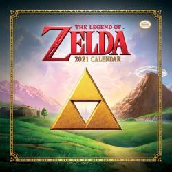 The Legend of Zelda Calendario 2021 - Imagen 1