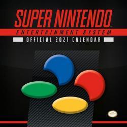 Super Nintendo Calendario 2021 - Imagen 1