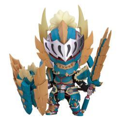 Monster Hunter World Iceborne Figura Nendoroid Hunter: Male Zinogre Alpha Armor 10 cm - Imagen 1