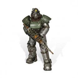 Fallout 4 Estatua tamaño real T-51b Power Armor 213 cm - Imagen 1