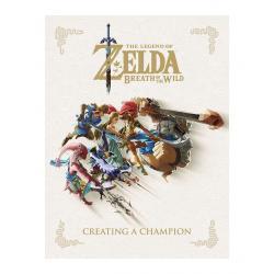 Legend of Zelda Breath of the Wild Artbook Creating A Champion *INGLÉS* - Imagen 1