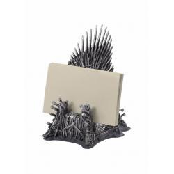Juego de tronos Estuche para tarjetas de visita Trono de Hierro 11 cm - Imagen 1