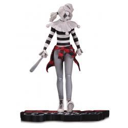 DC Comics Red, White & Black Estatua Harley Quinn by Steve Pugh 18 cm - Imagen 1