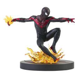 Spider-Man: Miles Morales Marvel Gamerverse Gallery Estatua Miles Morales 18 cm - Imagen 1