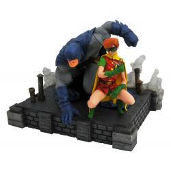 The Dark Knight Returns DC Comic Gallery Estatua PVC Batman & Robin 20 cm - Imagen 1