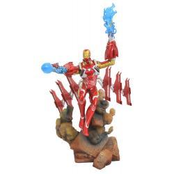 Vengadores Infinity War Marvel Movie Gallery Estatua Iron Man MK50 23 cm - Imagen 1