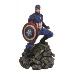 Vengadores: Endgame Marvel Movie Premier Collection Estatua Captain America 30 cm - Imagen 1