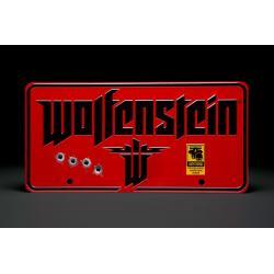 Wolfenstein cartel de metal The New Colossus - Imagen 1