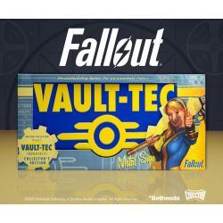 Fallout cartel de metal Vaul-Tec - Imagen 1