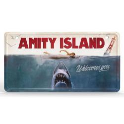Tiburón cartel de metal Movie Poster - Imagen 1