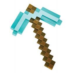 Minecraft Réplica Plástico Diamond Pickaxe 40 cm - Imagen 1