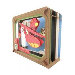Porco Rosso Paper Model Kit Paper Theater Adriatic Sea - Imagen 1