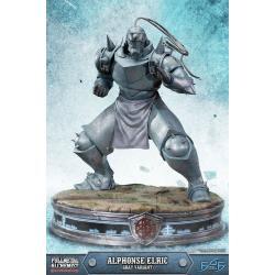 Fullmetal Alchemist Brotherhood Estatua Alphonse Elric Gray Variant 55 cm - Imagen 1