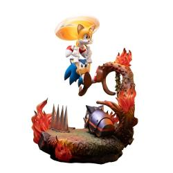 Sonic the Hedgehog Estatua Sonic & Tails 51 cm - Imagen 1