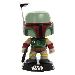 Star Wars POP! Vinyl Cabezón Boba Fett 10 cm - Imagen 1