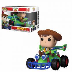 Toy Story POP! Rides Vinyl Figura Woody & RC 15 cm - Imagen 1