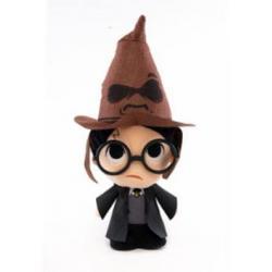 Harry Potter Peluche Super Cute Harry w/ Sorting Hat 18 cm - Imagen 1